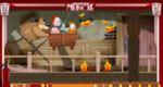 ガーフィールドの火事の家から脱出ゲーム