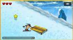 タズマニアンデビルのスノーボードゲーム