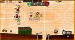 ルーニーチューンズのおもしろバスケットボールゲーム