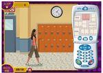 ハンナ・モンタナの携帯電話を使って日記を見つけるゲーム