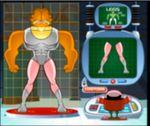 ガーフィールドのおもしろスーパーヒーローを作るゲーム