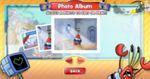 スポンジボブの写真撮影ゲーム