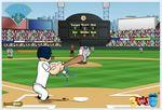 ポパイの野球ゲーム