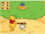 プーさんの野球ゲーム