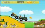 トラクター運転ゲーム